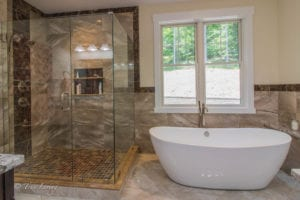 Luxury Custom Bathroom by True Living Custom Homes
