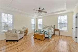 Luxury Custom Bedroom by True Living Custom Homes