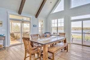 Luxury Custom Dining Room by True Living Custom Homes