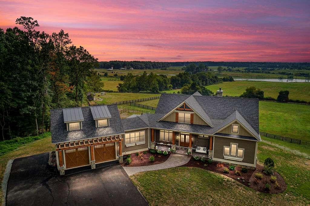Custom home by true living