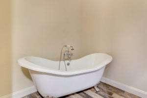 bath tub in custom home
