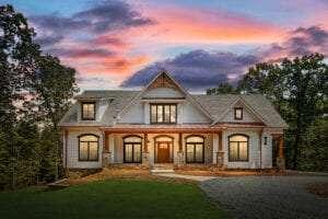 stunning custom home
